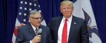 Trump with Arpaio Reuters/Brian Snyder