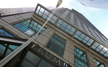 The Trump International Hotel and Tower is seen in downtown Toronto, Ontario, Canada June 27, 2017. REUTERS/Chris Helgren - RTS18VTQ