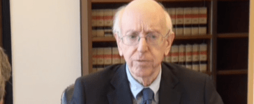 Judge Richard Posner in January 2017. (YouTube screenshot/IllinoisChannelTV)