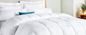 Normally $80, this down alternative comforter is 60 percent off (Photo via Amazon)