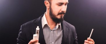 Does vaping lead to smoking? (Photo via Shutterstock)