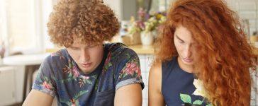 Curly-haired couple (Photo via Amazon)