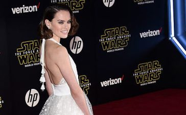 "Daisy Ridley attending the premiere of Walt Disney Pictures and Lucasfilm's ""Star Wars: The Force Awakens"" at the Dolby Theatre in December 2015 in Hollywood. (Photo Credit/Getty Images)"