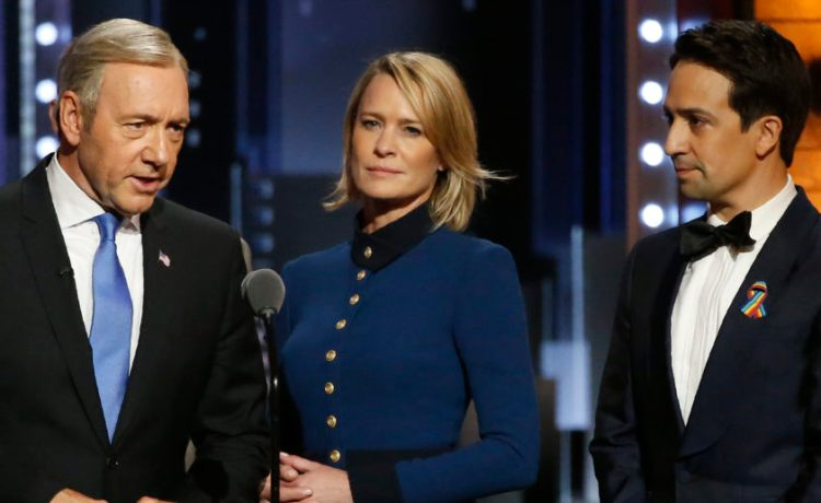 House of Cards filming halted following Spaceys accused of alleged sexual assault of minor. (Photo: Carlo Alegri/Reuters)