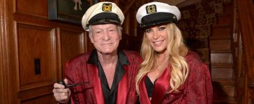 Los Angeles, CA - OCTOBER 25: Hugh Hefner and Crystal Hefner attend Playboy Mansion's Annual Halloween Bash at The Playboy Mansion on October 25, 2014 in Los Angeles, California. (Photo by Charley Gallay/Getty Images for Playboy)