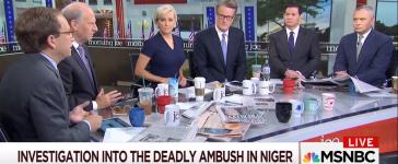 Morning Joe Panelist Doesn't Want Niger Turning Into Benghazi Witch Hunt -- Morning Joe 10-23-17 (Screenshot-MSNBC)