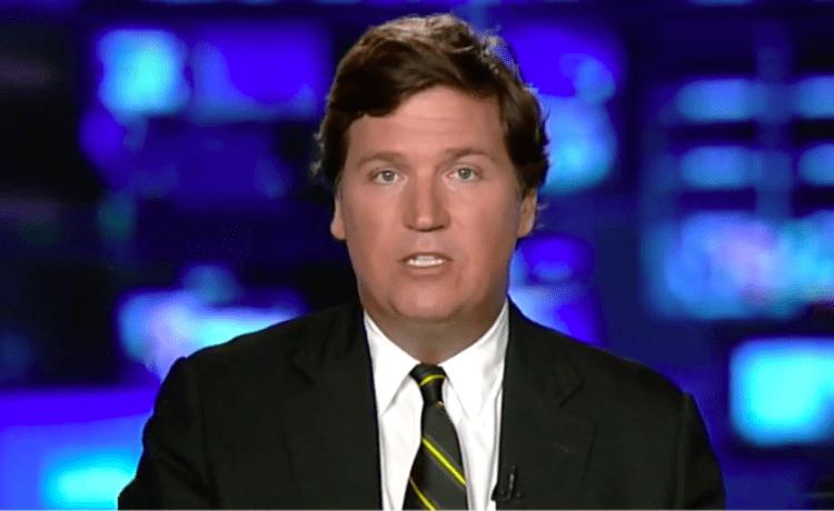 Screen Shot Tucker Carlson Slams Dems On Immigration (Fox News: Oct 9, 2017)