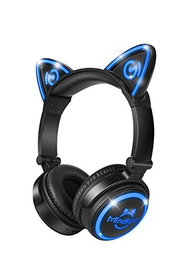 Normally $70, these bluetooth cat headphones are 69 percent off with this code (Photo via Amazon)