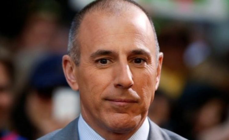 "FILE PHOTO: Host Matt Lauer pauses during a break while filming NBC's ""Today"" show at Rockefeller Center in New York, U.S., May 3, 2013. REUTERS/Lucas Jackson/File Photo"