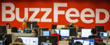 Buzzfeed employees work at the company's headquarters in New York January 9, 2014. BuzzFeed has come a long way from cat lists. This month one of its journalists was on the ground in Kiev reporting on the crisis in Ukraine, and last December it published an in-depth article on a Chinese dissident living in Harlem, New York. The kittens haven't disappeared, but these days there is serious journalism as well. Founded in 2006, BuzzFeed is now among the top 10 most-visited news and information sites in the United States. Headquartered in New York, BuzzFeed now has more than 150 journalists, an investigative reporting unit, bureaus in Australia and the United Kingdom, and foreign correspondents in far-flung places like Nairobi and the Middle East. Its expansion comes amid a wave of investor interest in new media companies that are trying to capitalize on a decade-long wave of job cuts at newspapers, and new technology that has upended how news and advertising are produced and distributed. To match Feature USA-MEDIA/BUZZFEED Picture taken January 9, 2014. REUTERS/Brendan McDermid