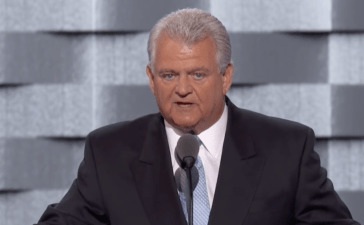 Bob Brady speaks at the Democratic National Convention Screenshot/YouTube
