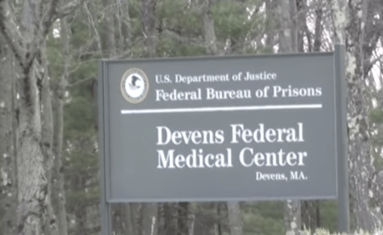 Federal Medical Center Devens, where Anthony Weiner is in prison. (YouTube screenshot/zapptv-productions)