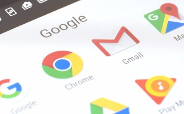 An array of Google apps. [Shutterstock - ymgerman]