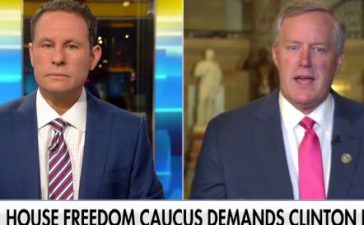 "Rep. Mark Meadows on ""Fox And Friends"" (Photo: Screenshot/Fox News)"