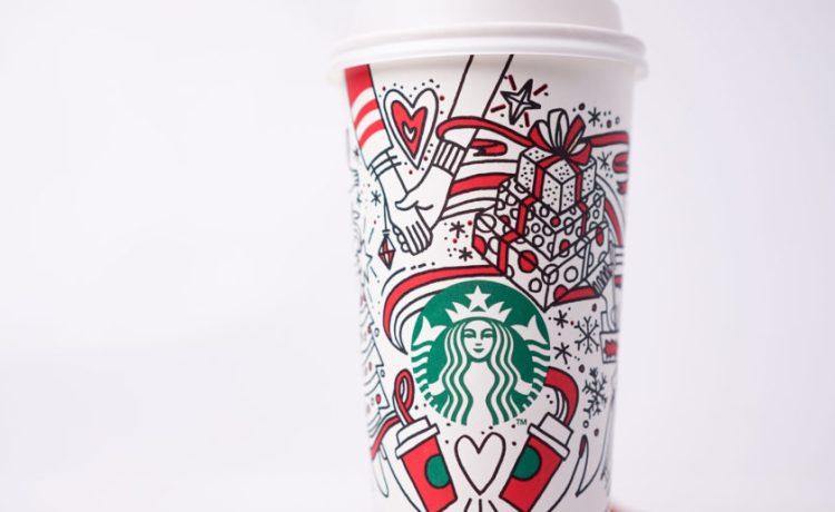 Starbucks Holiday Cup (Shutterstock/Sallehudin Ahmad)