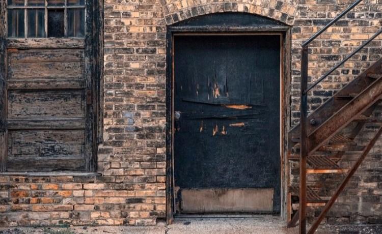 back door Shutterstock/Paul W Thompson