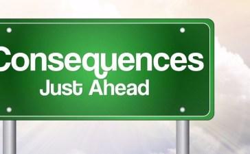 consequences Shutterstock/dizain