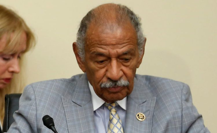 U.S. Representative John Conyers (D-MI) participates in a House Judiciary Committee hearing on Capitol Hill in Washington, July 12, 2016. REUTERS/Jonathan Ernst