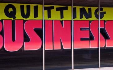 out of business Shutterstock/Mark Winfrey
