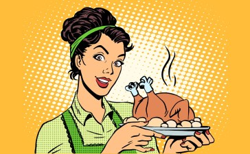 retro pop art Thanksgiving Shutterstock/studiostoks