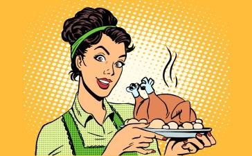 retro pop art Thanksgiving Shutterstock/studiostoks