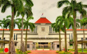 Parliament House in Singapore (Photo via Shutterstock)