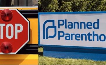 Stop Planned Parenthood. Shutterstock/Nagel Photography, Shutterstock/Jonathan Weiss