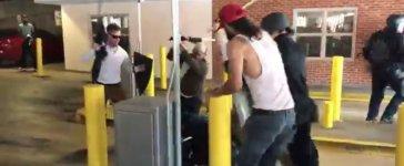 The parking garage brawl (Brenton Roy/TheDCNF)