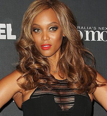 Tyra Banks posing for a photo at Carriageworks in December 2014 in Sydney, Australia. (Photo by Mark Metcalfe/Getty Images)