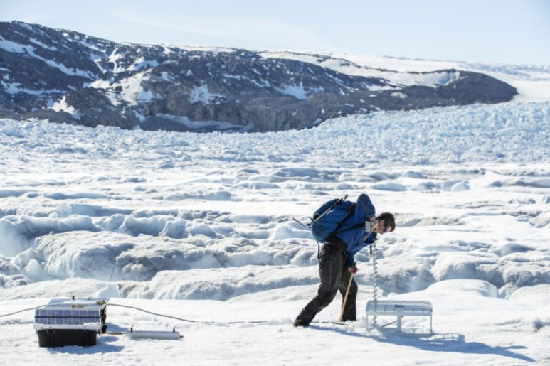 The Wider Image: In Greenland, a glacier's collapse shows climate impact