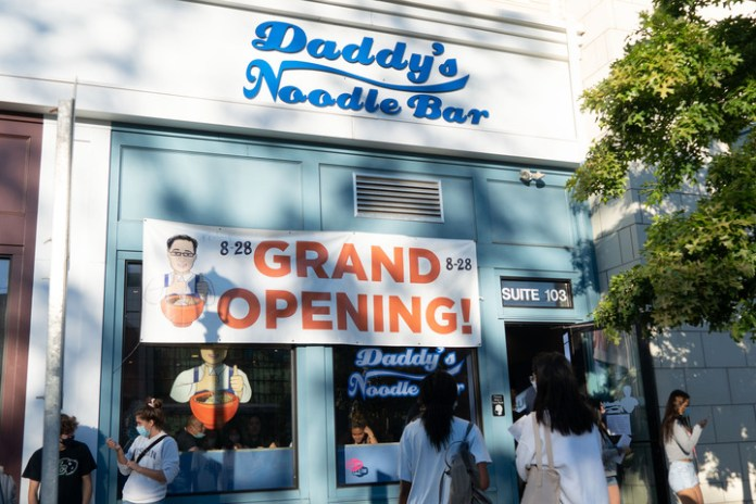 Daddy Noodle's Grand Opening