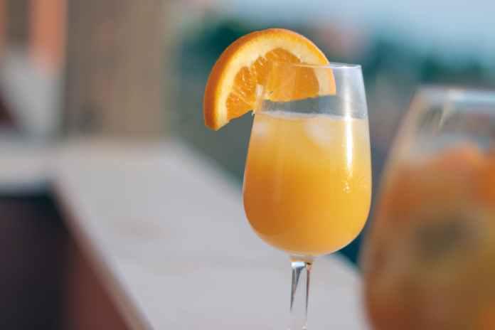beverage breakfast drink orange juice