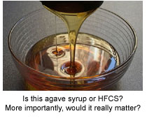 Agave Syrup or Corn Syrup - does it really matter?