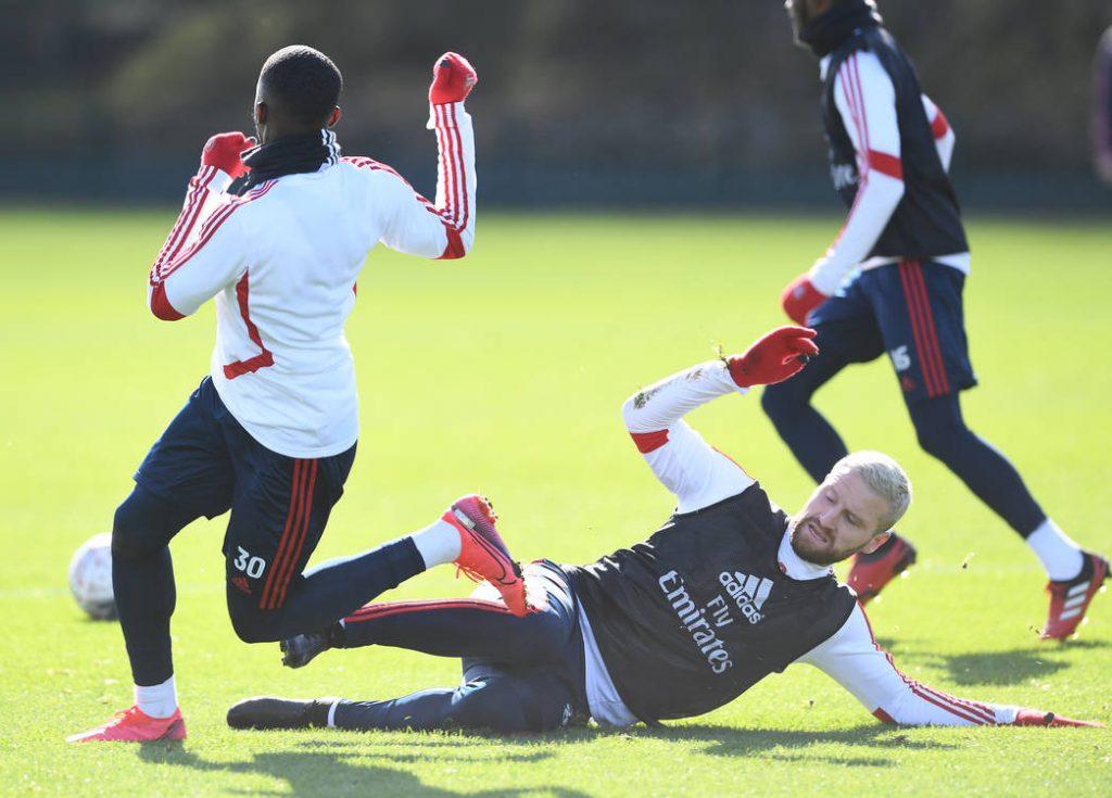 return to the training ground