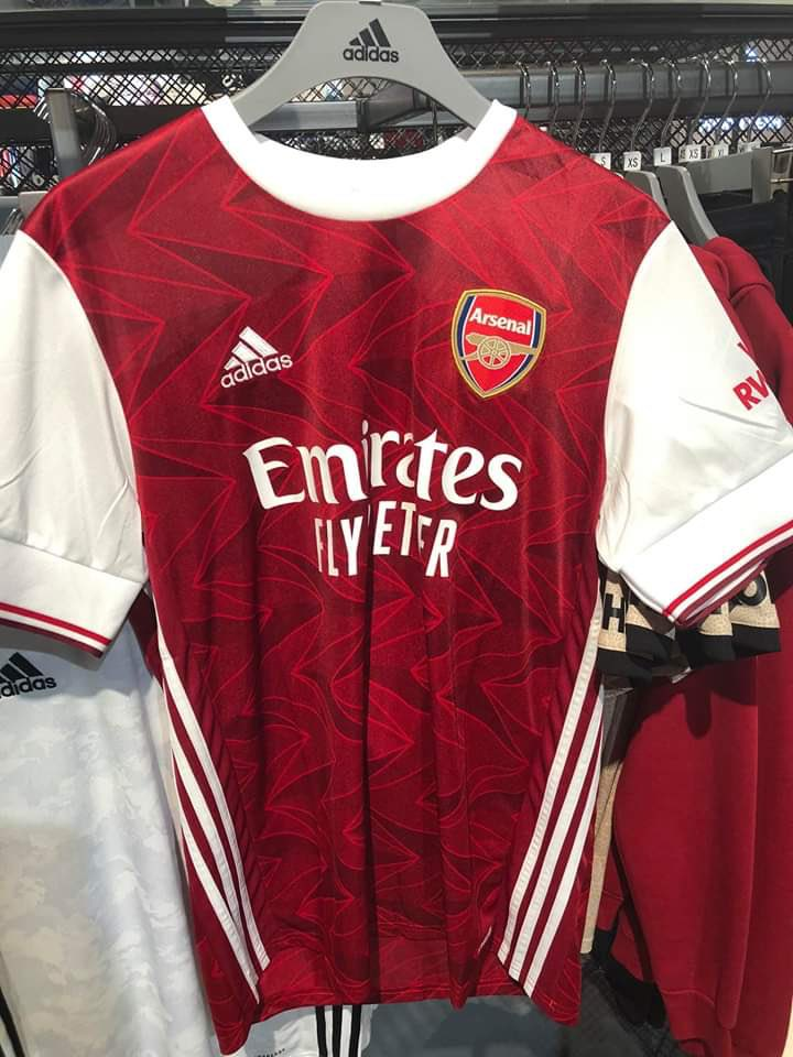 arsenal 2020 21 home kit goes on sale early