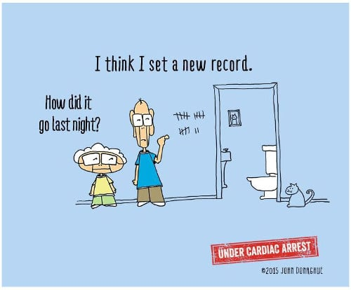 Funny Things About Aging Caregiver Humor In Cartoons