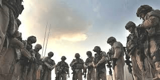 Prayer for Protection of Those in Military Service