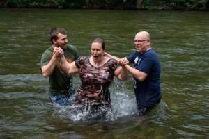 Baptisms: Angela And Toni