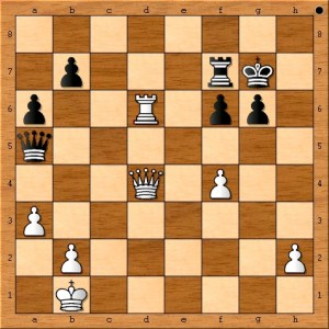 Position after Anand plays 33. f4.