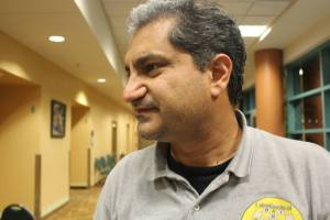 One of the best chess promoters in the history of California chess, Salman Azhar.