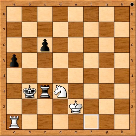 The position after Magnus Carlsen plays 78. Ra1.