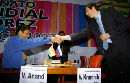 In under 2 days Anand will play Kramnik!
