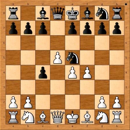 Position after 5. f4.