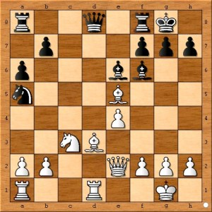 I believe black's best plan would have been to attack rather than defend. ( 15...Bc5 16.Rac1 Nc6 17.Bf4 )