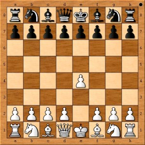 "An eight year old Susan Polgar preferred the dynamic possibilities of playing ""1. e4."" Several years prior to this game, Bobby Fischer declared the move, ""best by test"" on one of his score sheets."