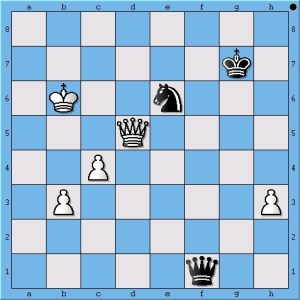 Even without his pawns, Carlsen can draw this position.