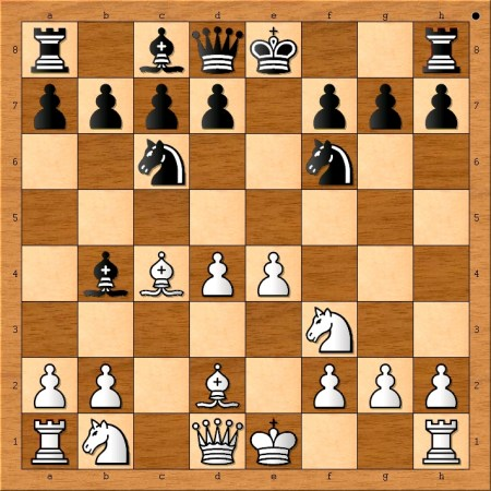 Position after 7. Bd2