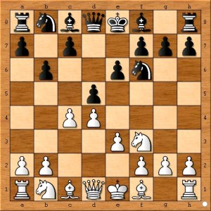 Chess Amateur Ted Castro finally moves a pawn to the center on his  third pawn move in just four moves. Some players can be successful employing chess openings such as Ted's, but the vast majority of amateur chess players would do better to simply follow the Ten Opening Rules.
