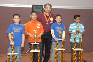 Salman Azhar returns to organize the Calchess Scholastic State Championship for a, record setting, seventh straight year!