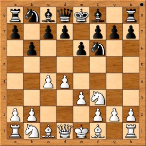 """Chess Master Eric Schiller plays a useful pawn move which grabs more space in the center of the board. """"Always play to gain control of the center."""""""